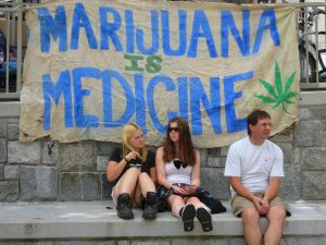 Vancouver rally for legalisering af Cannabis
